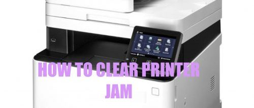 EASY STEPS TO CLEAR PAPER JAM