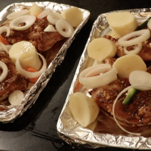 BAKED CHICKEN AND POTATO