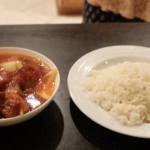 TOMATO STEW AND WHITE RICE