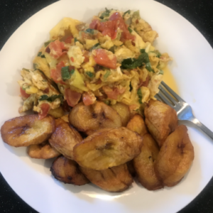 Fried Plantain and Egg Recipe